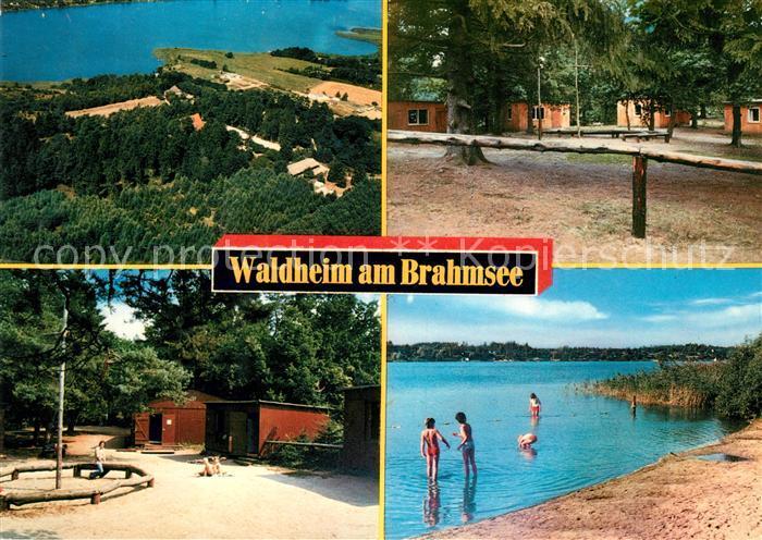AK / Ansichtskarte Langwedel Holstein Evangelisches Jugendheim Waldheim am Brahmsee Kat. Langwedel