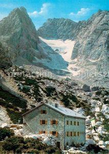 AK / Ansichtskarte Blaueishuette Blaueisspitze Gletscher  Kat. Hochkalter Ramsau