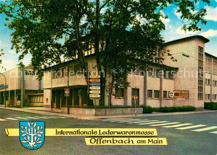 AK / Ansichtskarte Offenbach Main Internationale Lederwarenmesse Kat. Offenbach am Main