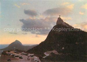 AK / Ansichtskarte Rio de Janeiro Vista do Corcovado Christusstatue Kat. Rio de Janeiro