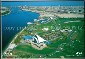 AK / Ansichtskarte Dubai Golf und Yachtclub Fliegeraufnahme Kat. Dubai
