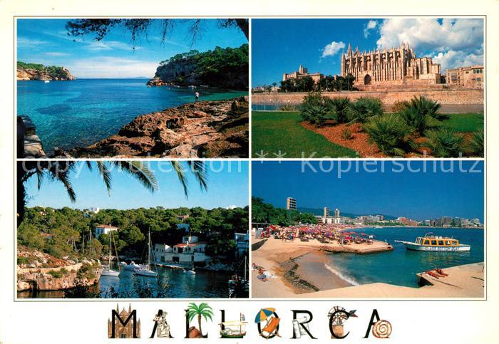 AK / Ansichtskarte Mallorca Portals Vells Palma Catedral Cala Figuera y Magalluf Kat. Spanien