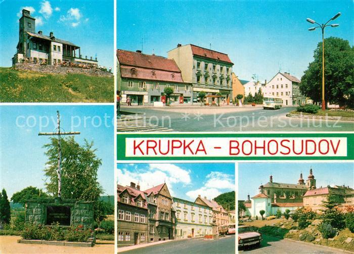 AK / Ansichtskarte Bohosudov Monument Kloster  Kat. Mariaschein