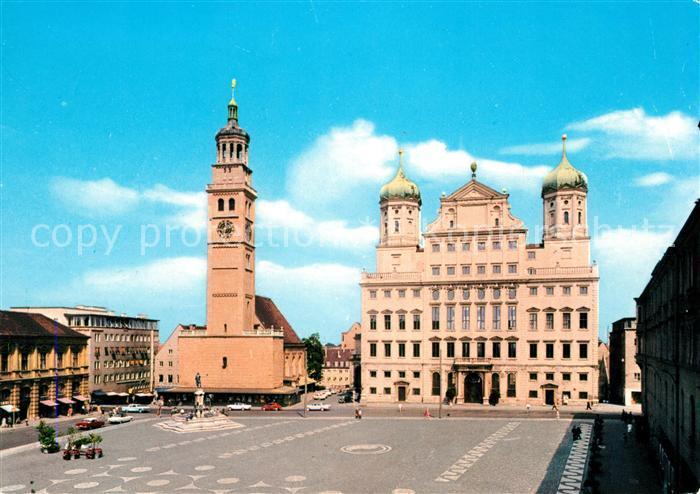 AK / Ansichtskarte Augsburg Rathaus Perlach Kat. Augsburg