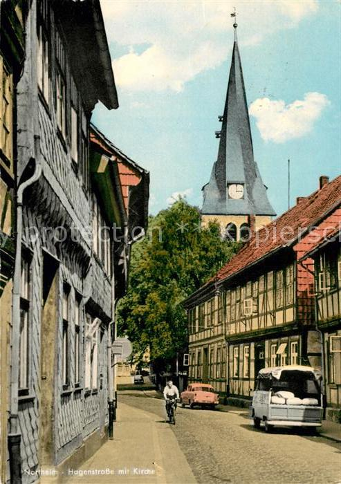 AK / Ansichtskarte Northeim Hagenstrasse Kirche Kat. Northeim