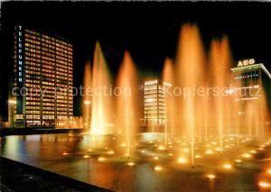 AK / Ansichtskarte Berlin Nachtaufnahme Ernst Reuter Platz Kat. Berlin