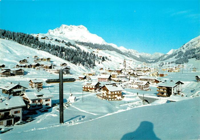 AK / Ansichtskarte Lech Vorarlberg Winterlandschaft Karhorn Kat. Lech