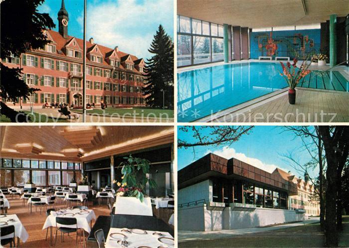 Ak ansichtskarte duerrheim bad kurklinik sonnbuehl for Schwimmbad bad durrheim