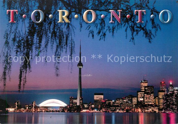 AK / Ansichtskarte Toronto Canada Downtown glittering at night Reflections of Canada Kat. Ontario