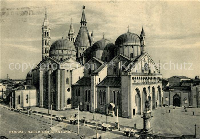 AK / Ansichtskarte Padova Basilica San Antonio Kat. Padova