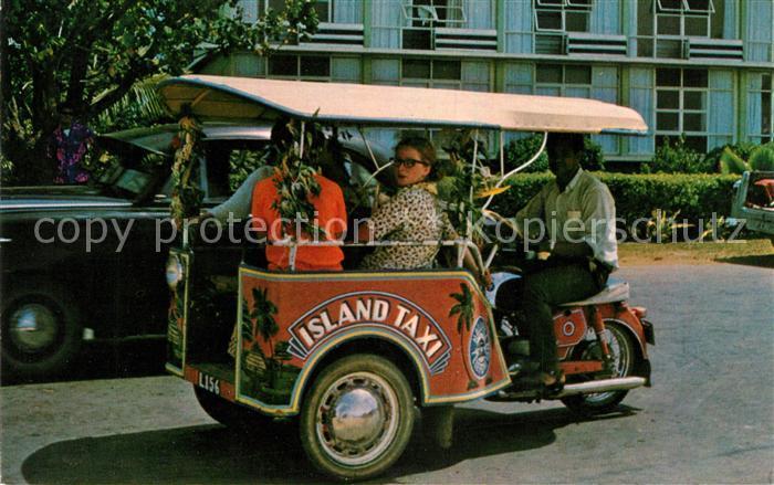 AK / Ansichtskarte Tonga Tricycle Kat. Tonga