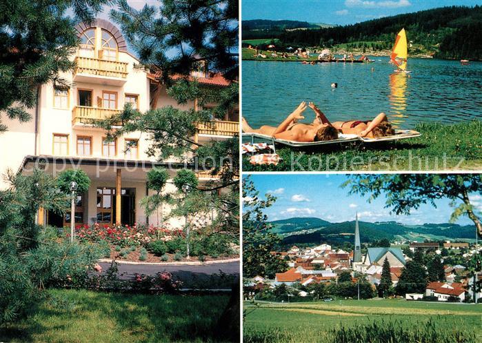 AK / Ansichtskarte Wegscheid Niederbayern Landhotel Rosenberger  Kat. Wegscheid