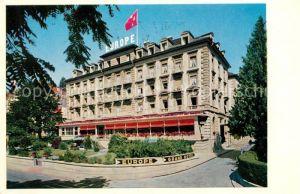 AK / Ansichtskarte Lucerne Luzern Grand Hotel Europe Kat. Luzern
