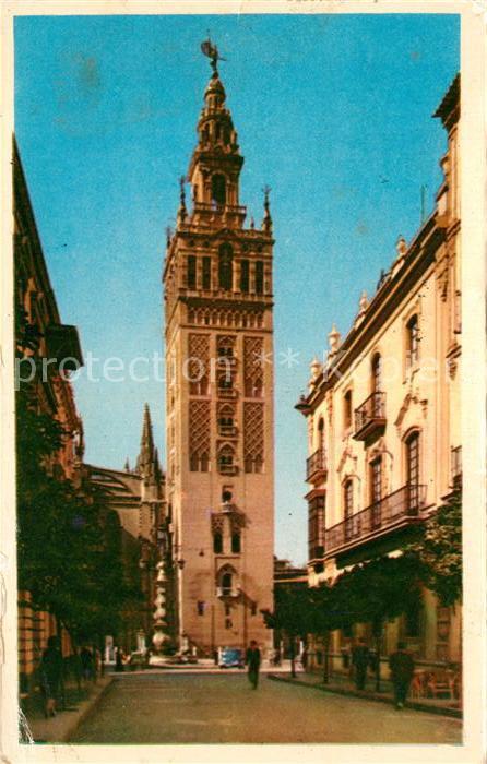 AK / Ansichtskarte Sevilla Andalucia La Giralda Kat. Sevilla