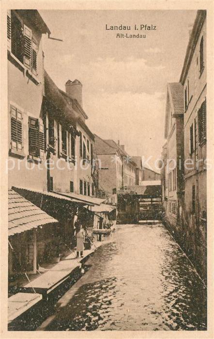 AK / Ansichtskarte Landau Pfalz Alt Landau Kat. Landau in der Pfalz