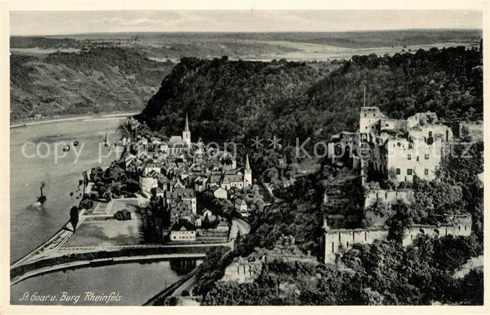 AK / Ansichtskarte St Goar Burg Rheinfels Kat. Sankt Goar