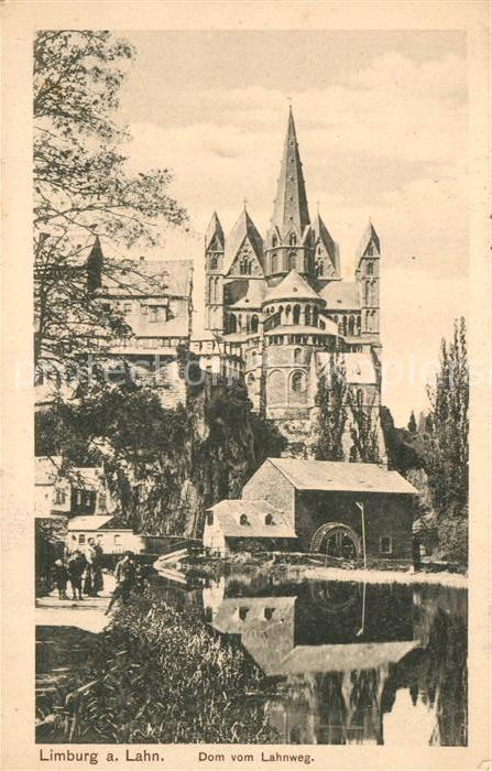 AK / Ansichtskarte Feldpost Stempel WK1 Trier Limburg an der Lahn Dom  Kat. WK1