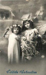 AK / Ansichtskarte Weihnachten Kinder Engel  Kat. Greetings