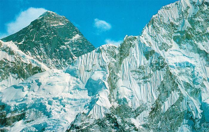 AK / Ansichtskarte Mount Everest Gebirgspanorama Himalaya Kat. Nepal