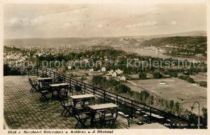 AK / Ansichtskarte Koblenz Rhein Berghotel Rittersturz Panorama Kat. Koblenz
