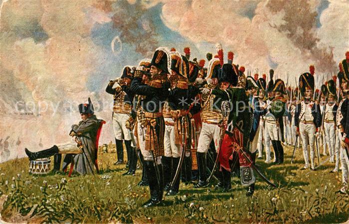 AK / Ansichtskarte Napoleon Bonaparte Kuenstlerkarte V. P. Verestchaguine Napoleon sur les Collines de Borodino Kat. Persoenlichkeiten