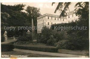 AK / Ansichtskarte Karlsbad Eger Richmond Parkhotel