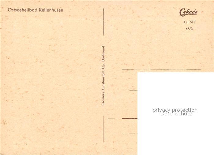 AK / Ansichtskarte Kellenhusen Ostseebad Strand Kat. Kellenhusen (Ostsee) 1