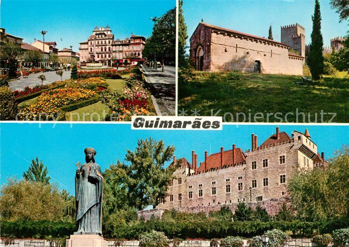 AK / Ansichtskarte Guimaraes Schloss  Kat. Guimaraes