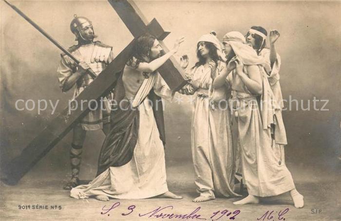AK / Ansichtskarte Jesus Kreuz Kat. Christentum