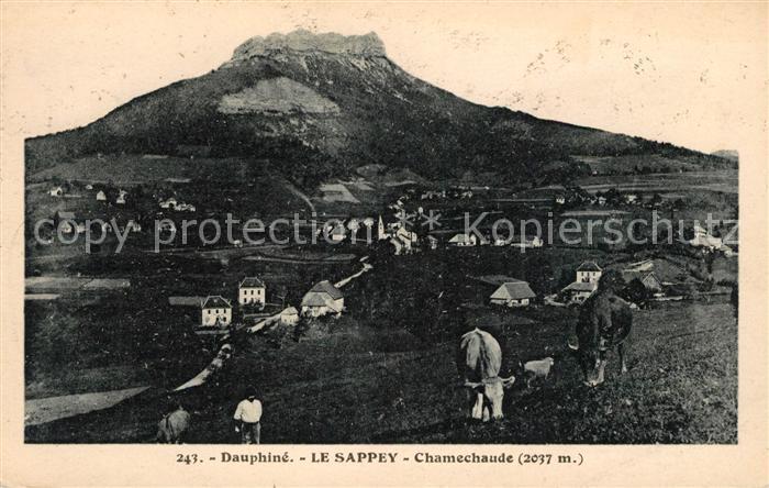 AK / Ansichtskarte Le Sappey en Chartreuse Isere Dauphine Chamechaude Kat. Le Sappey en Chartreuse