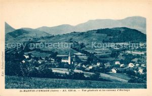AK / Ansichtskarte Saint Martin d Uriage Vue generale et les coteaux d Herbeys Kat. Saint Martin d Uriage