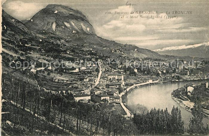 AK / Ansichtskarte La Tronche et le Mont Saint Eynard Kat. La Tronche