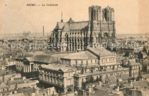 AK / Ansichtskarte Reims Champagne Ardenne La Cathedrale Kat. Reims