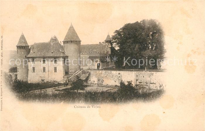 AK / Ansichtskarte Virieu Chateau de Virieu Kat. Virieu