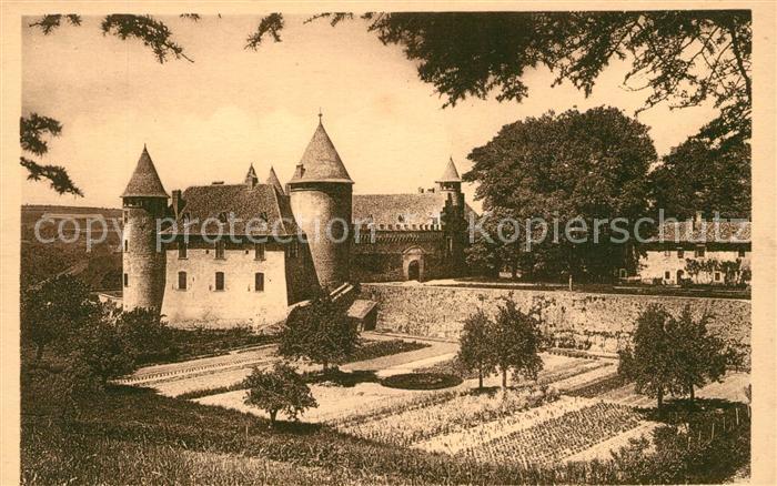 AK / Ansichtskarte Virieu sur Bourbre Le Vieux Chateau