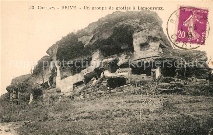AK / Ansichtskarte Brive Correze Un groupe de grottes a Lamouroux Kat. Correze