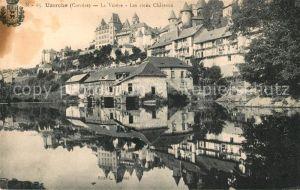 AK / Ansichtskarte Uzerche La Vezere Les vieux Chateaux Kat. Uzerche