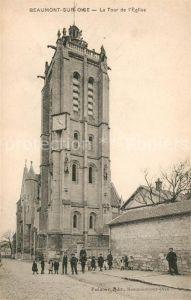 AK / Ansichtskarte Beaumont sur Oise La Tour de l Eglise Kat. Beaumont sur Oise