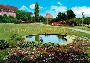 AK / Ansichtskarte Herford Entenbrunnen Kat. Herford