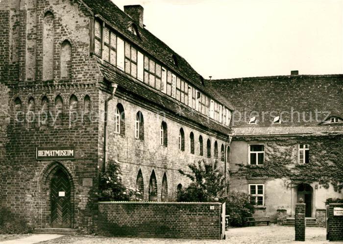 AK / Ansichtskarte Prenzlau Heimatmuseum Kat. Prenzlau