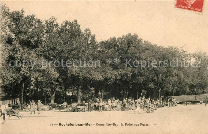 AK / Ansichtskarte Rochefort sur Mer Cours Roy Bry Kat. Rochefort Charente Maritime