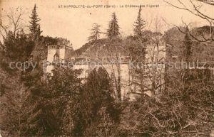 AK / Ansichtskarte Saint Hippolyte du Fort Chateau de Figaret Kat. Saint Hippolyte du Fort