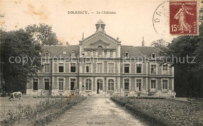 AK / Ansichtskarte Drancy Seine Saint Denis Chateau Kat. Drancy