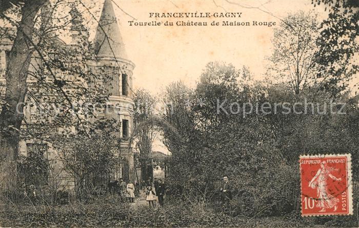 AK / Ansichtskarte Franceville Plage Tourelle du Chateau de Maison Rouge Kat. Merville Franceville Plage