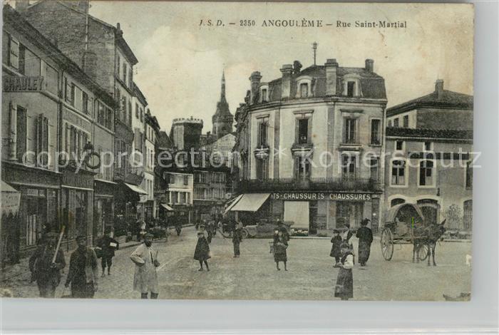 AK / Ansichtskarte Angouleme Rue Saint Martin Kat. Angouleme