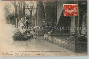 AK / Ansichtskarte Argenteuil Val d Oise Hochwasser Kat. Argenteuil