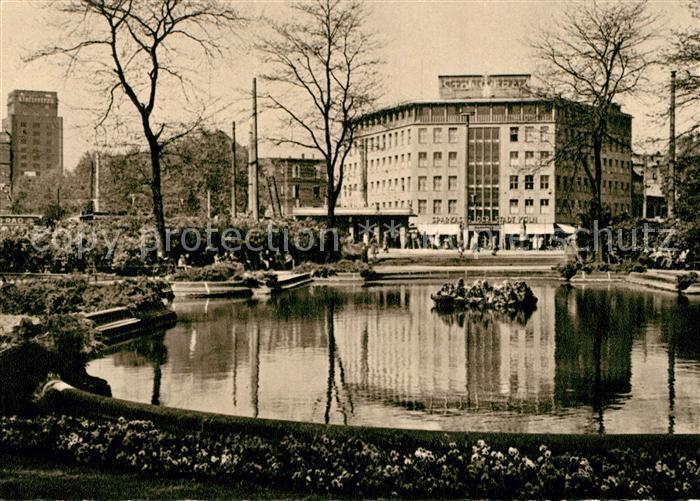 AK / Ansichtskarte Koeln Rhein Friedrich Ebert Platz Teich Kat. Koeln
