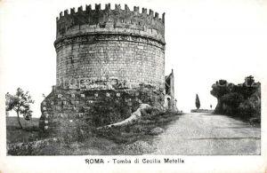 AK / Ansichtskarte Roma Rom Tomba di Cecilia Metella Kat.