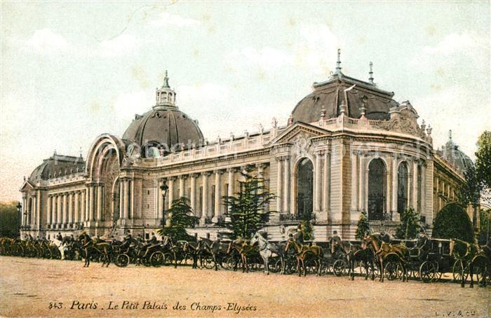 AK / Ansichtskarte Paris Le Petit Palais des Champs Elysees Kat. Paris