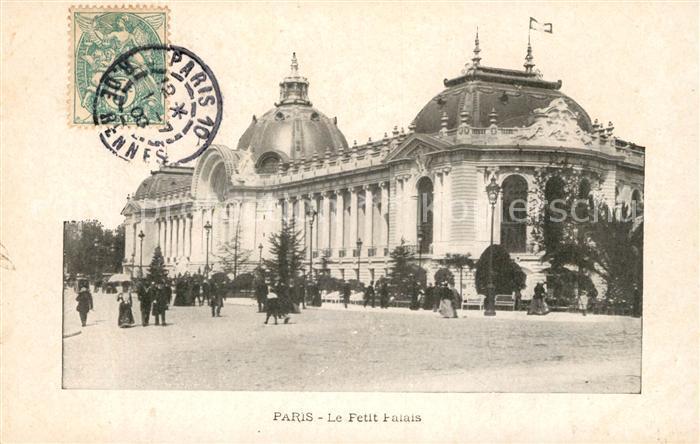 AK / Ansichtskarte Paris Le Petit Palais Kat. Paris